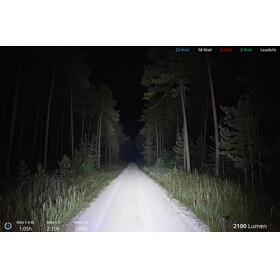 Lupine Blika X 4 SmartCore Otsalamppu , musta